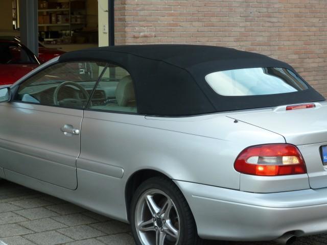 Volvo C70, softtop Sonnenland A5 zwart (5)