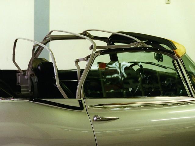 Cabriokapframe Jaguar E-type S3